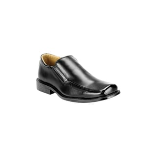 Men's Fratelli Black Leather Oxford Shoes