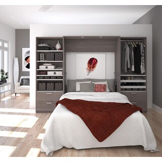 "Cielo by Bestar Premium 118"" Full Wall Bed kit"