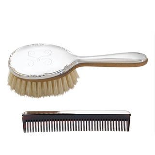 Reed & Barton Georgia Brush & Comb Set - Silver
