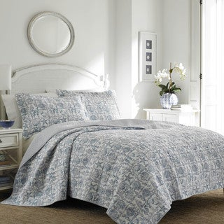 Laura Ashley Bettina Beach Quilt Set