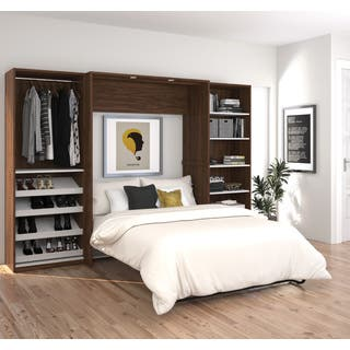 Cielo By Bestar Clic 118 Inch Full Wall Bed Kit 2 Options Available