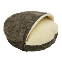 Snoozer Orthopedic Premium Micro Suede Cozy Cave Laurel Pet Bed
