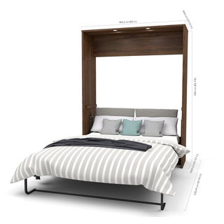 "Cielo by Bestar Premium 104"" Queen Wall Bed kit"