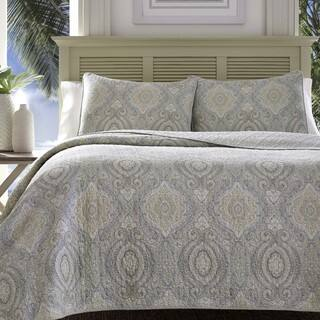 Tommy bahama bedding bath for less overstock tommy bahama turtle cove pelican medallion grey quilt set gumiabroncs Gallery