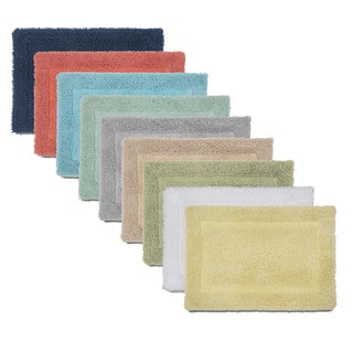 Laurel Creek Kootenai 100-percent Cotton Ringspun Bath Rug