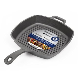 """Westinghouse 10.5"""" Cast Iron Grill Pan"""