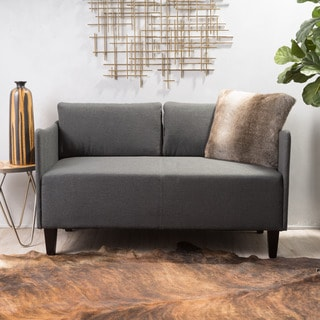Nyx Modern Fabric Upholstered Loveseat by Christopher Knight Home