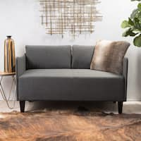 Nyx Fabric Loveseat Sofa by Christopher Knight Home