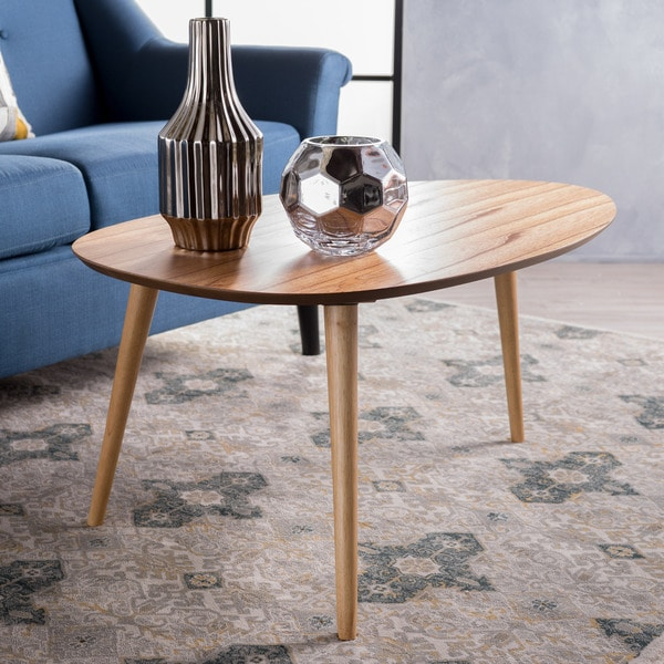 Shop Elam Mid-Century Wood Coffee Table By Christopher