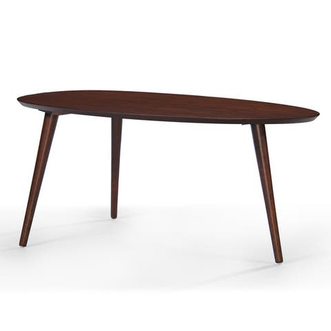 Elam Mid-Century Wood Coffee Table by Christopher Knight Home
