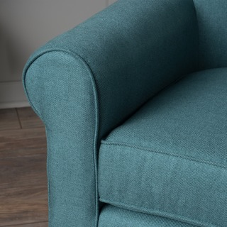 Roseville Fabric Club Chair by Christopher Knight Home
