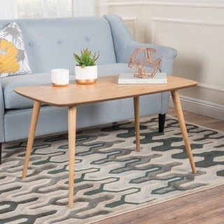 Christopher Knight Home Jazzman Mid-century Wood High Rectangle Coffee Table