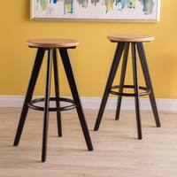 Judd 30-inch Backless Barstool (Set of 2) by Christopher Knight Home