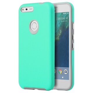 Insten Hard Snap-on Dual Layer Hybrid Case Cover For Google Pixel XL