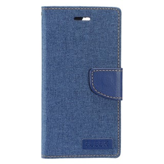 Insten Blue Leather Case Cover with Stand/ Wallet Flap Pouch/ Photo Display For Apple iPhone 7 Plus