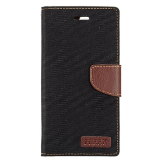 Insten Black/ Brown Leather Case Cover with Stand/ Wallet Flap Pouch/ Photo Display For Apple iPhone 7 Plus