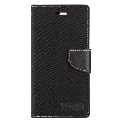 Insten Black Leather Case Cover with Stand/ Wallet Flap Pouch/ Photo Display For Apple iPhone 7