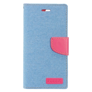 Insten Blue/ Pink Leather Case Cover with Stand/ Wallet Flap Pouch/ Photo Display For Apple iPhone 7