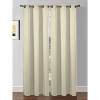 Bella Luna Ana Woven Room Darkening Extra Wide 84-inch Grommet Curtain Panel - 54 x 84 (4 options available)
