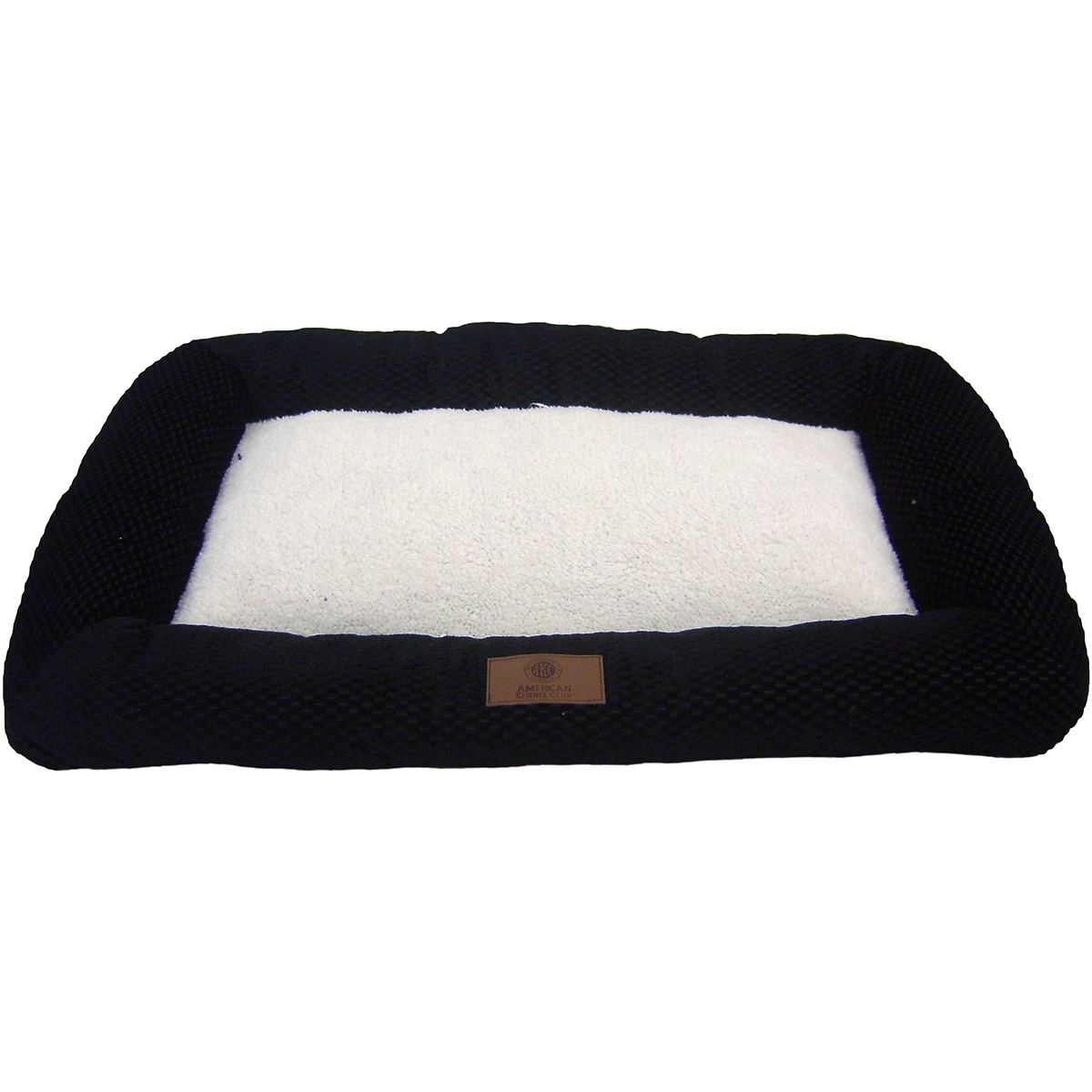 American Kennel Club Bolster Pet Crate Pad (Navy (Blue) -...