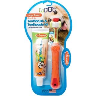 EZ Dog Pet Toothbrush Kit