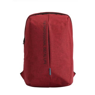 Kingsons Pulse Series 15.6-inch Laptop Backpack (Red)