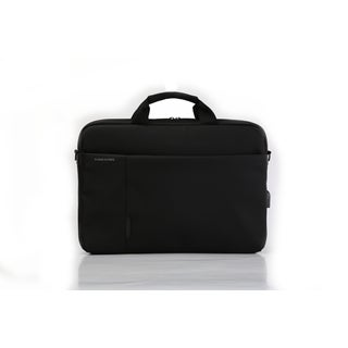 Kingsons Charged Series Smart 15.6-inch Laptop Briefcase (Black)