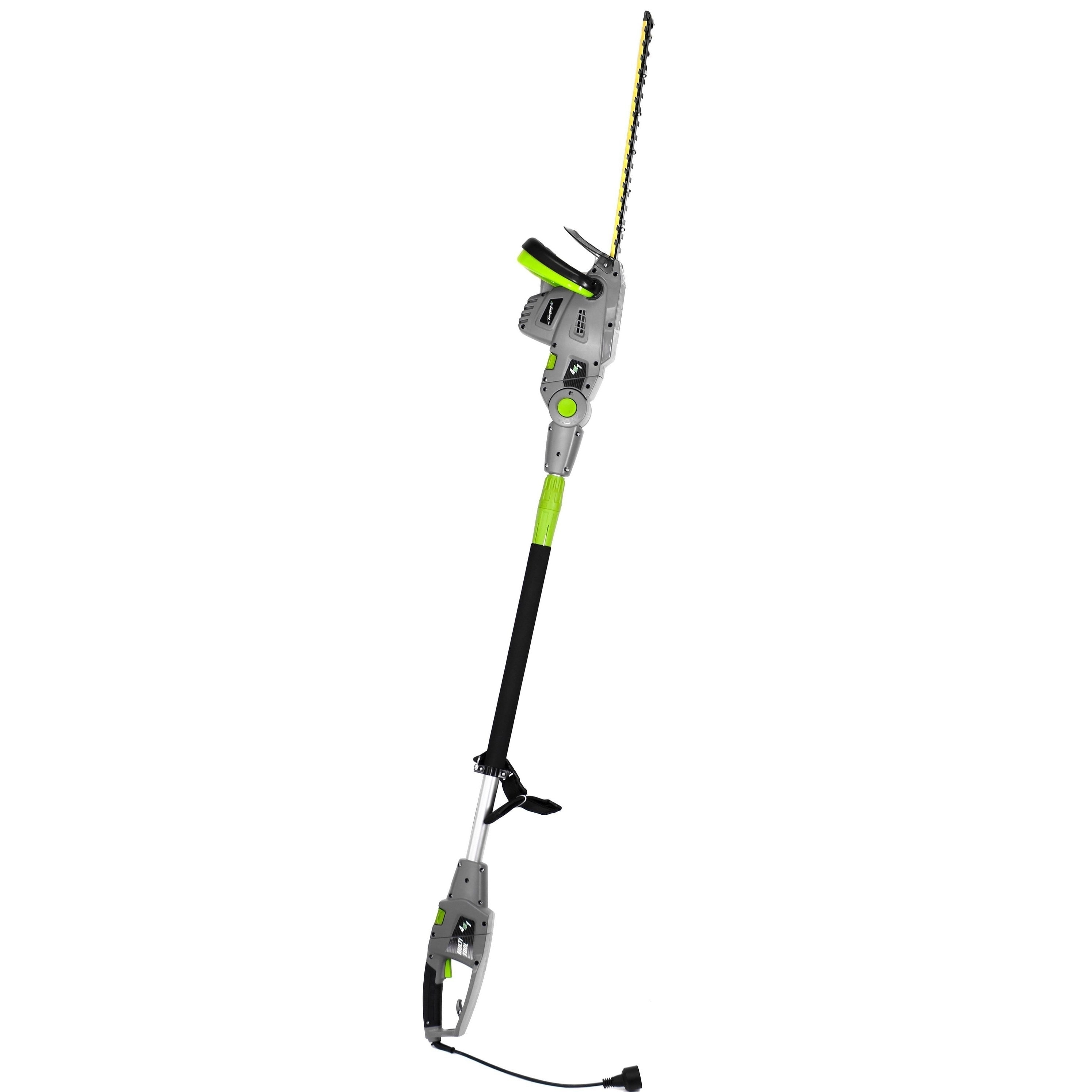 """Corded Electric 2in1 Pole Handheld Hedge Trimmer 18/"""" 2.8 Amp Rotating Head New"""