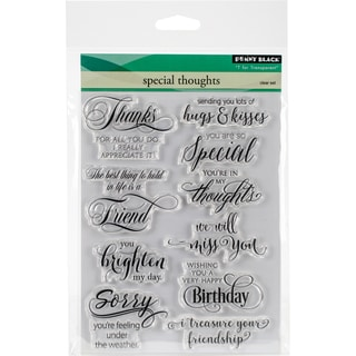 Penny Black Clear Stamps 5X7-Special Thoughts