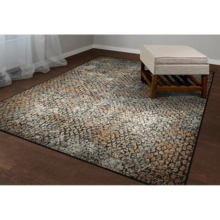 Couristan Easton Zen/Earthtones Area Rug (2' x 3'7)
