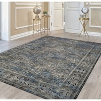 Couristan Cire Damsel Multicolor Area Rug - 7'10 x 11'2