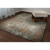Couristan Easton Zen/Earthtones Area Rug - 3'11 x 5'3