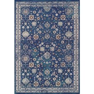 Couristan Vintage Bijar/Denim Rug (7'10 x 10'10)