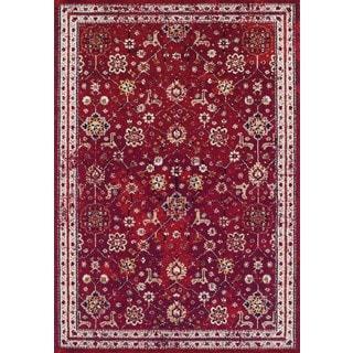 Couristan Vintage Bijar/Claret Area Rug - 3'11 x 5'3