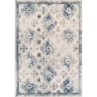 Couristan Sand/Denim Vintage Ferahan Rug (5'3 x 7'6)