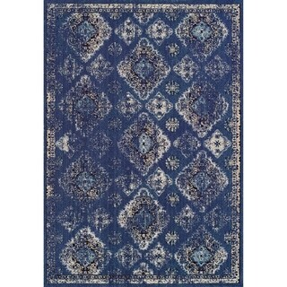 Couristan Vintage Ferahan/Denim Rug (5'3 x 7'6)