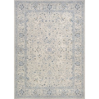 Couristan Sultan Treasures Floral Yazd/Grey Rug (3'11 x 5'3)