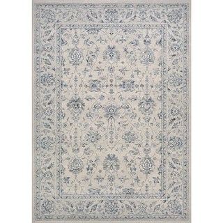 "Couristan Sultan Treasures All Over Mashhad/Grey Rug (3'11"" x 5'3"")"