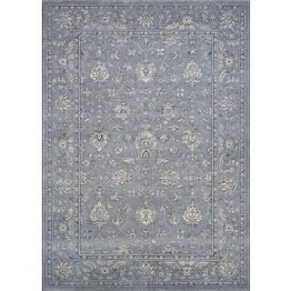 Couristan Sultan Treasures All Over Mashhad/Slate Blue Rug (2' x 3'7)