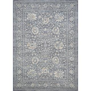 Couristan Sultan Treasures Persian Isfahan/Slate Rug (6'6 x 9'6)