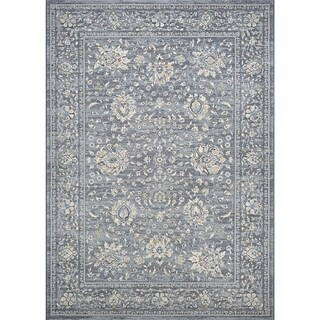 Couristan Sultan Treasures Persian Isfahan/Slate Area Rug - 6'6 x 9'6
