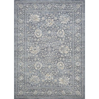 Couristan Sultan Treasures Persian Isfahan/Slate Rug (3'11 x 5'3)