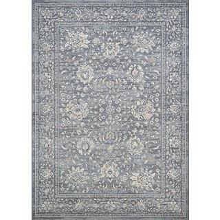 Couristan Sultan Treasures Persian Isfahan/Slate Rug (7'10 x 11'2)