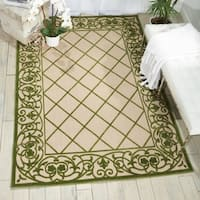 Nourison Aloha Green Indoor/Outdoor Rug - 7'10 x 10'6