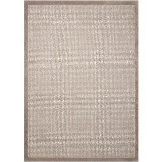 kathy ireland River Brook Grey/Ivory Area Rug by Nourison (5'2 x 7'5)