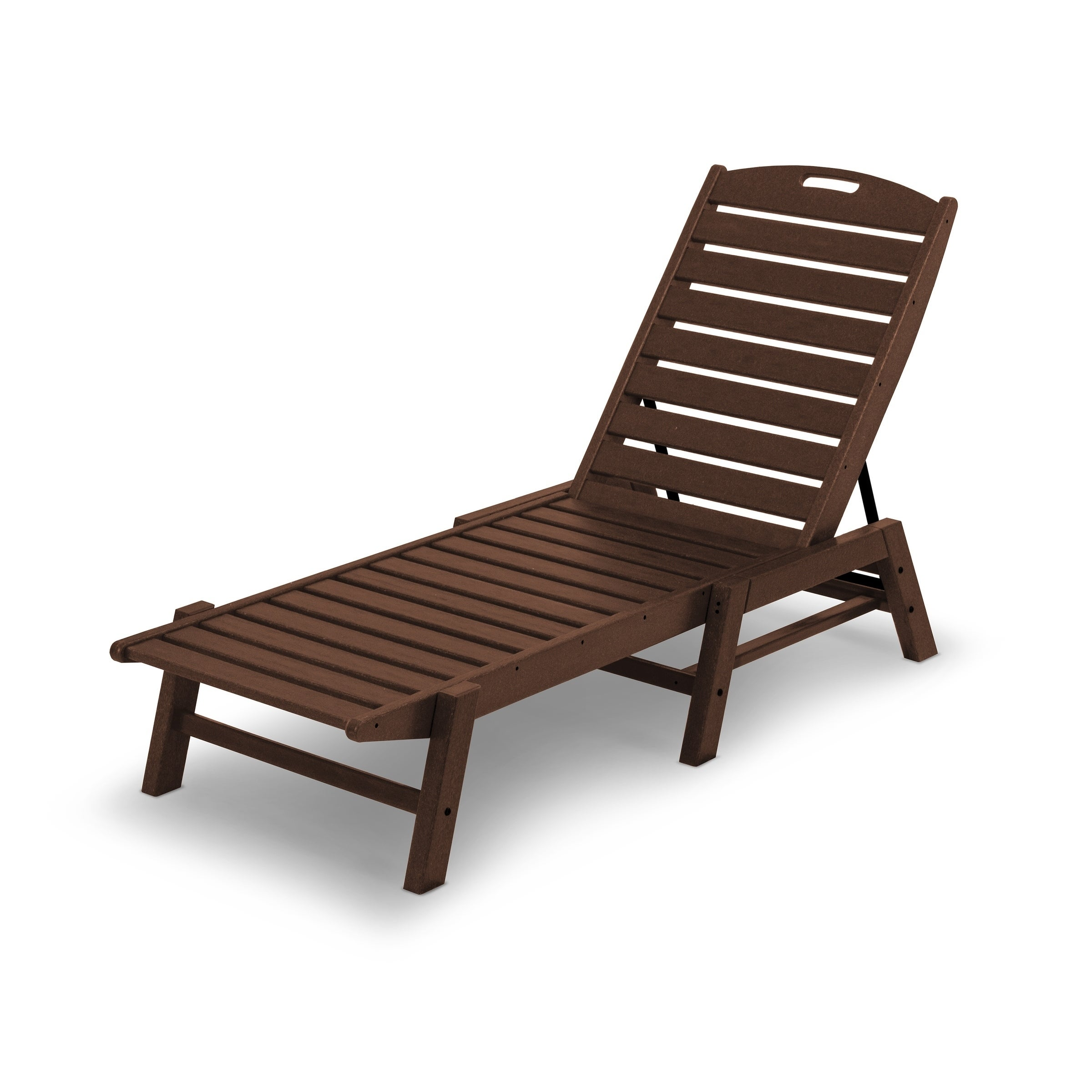 - Shop POLYWOOD® Nautical Outdoor Stackable Chaise Lounge