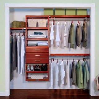 Premier 3-drawer Red Mahogany Closet Organizer