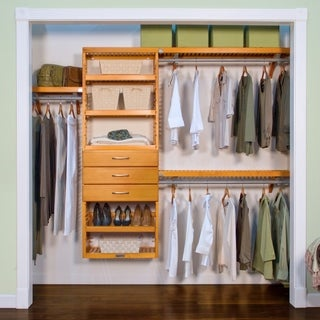 Premier Honey Maple 3-drawer Closet Organizer
