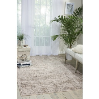 kathy ireland Desert Skies Grey Area Rug by Nourison (9' x 12')