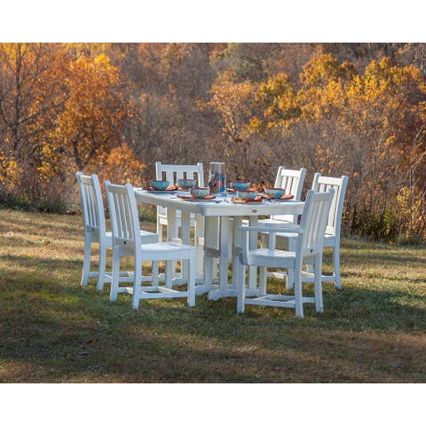 POLYWOOD® Traditional Garden 7-piece Dining Set
